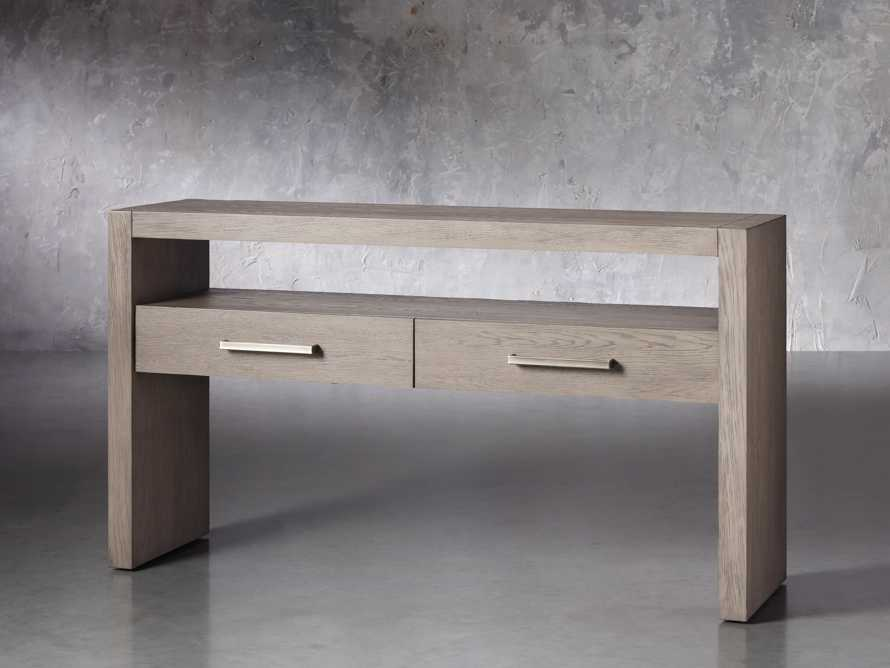 """Bodhi 60"""" Console Table in Salvaged Grey, slide 2 of 5"""