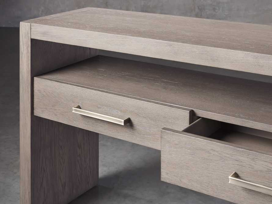 """Bodhi 60"""" Console Table in Salvaged Grey, slide 3 of 5"""
