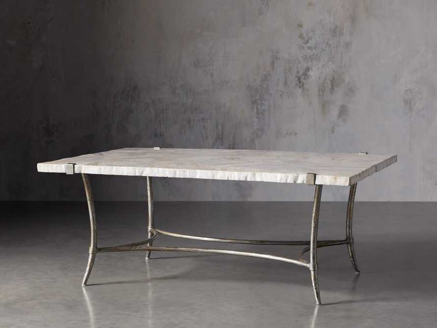"Boracay 48"" Rectangle Century Marble Coffee Table"