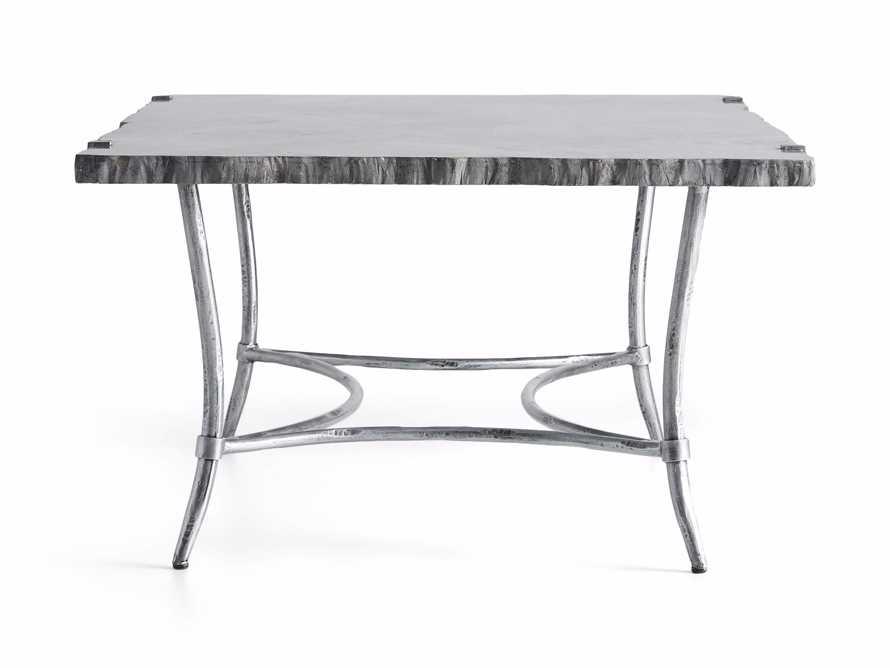 "Boracay 48"" Rectangle Grey Marble Coffee Table, slide 8 of 8"