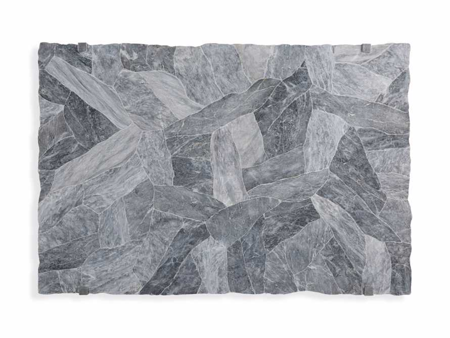 "Boracay 48"" Rectangle Grey Marble Coffee Table, slide 6 of 8"