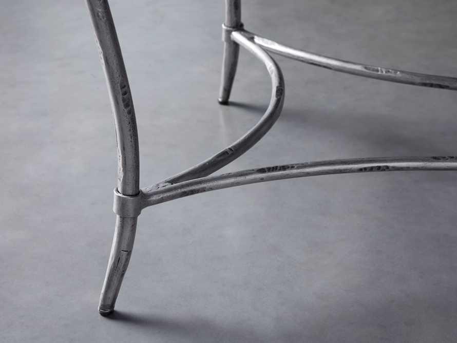 "Boracay 48"" Rectangle Grey Marble Coffee Table, slide 4 of 8"