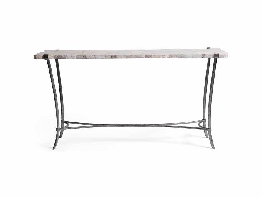 Boracay Console Table in Platinum