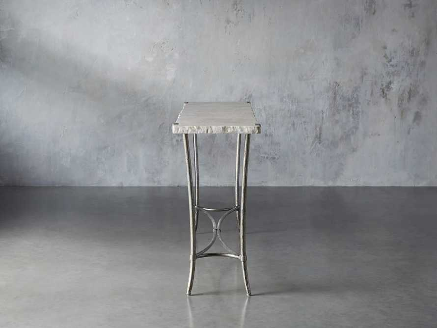Boracay Console Table in Platinum, slide 3 of 7