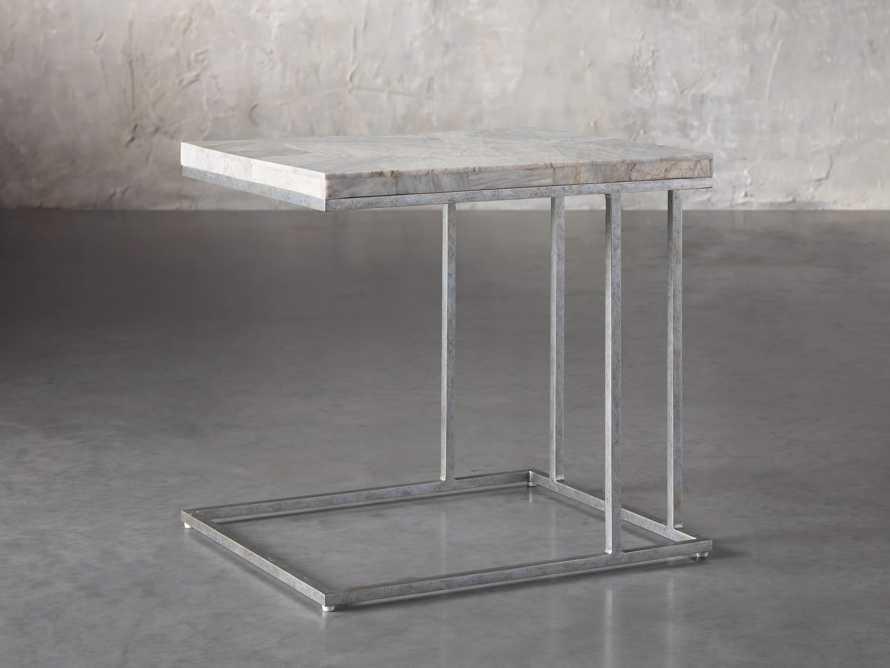 "Boracay 24"" Century Marble C Table, slide 1 of 6"