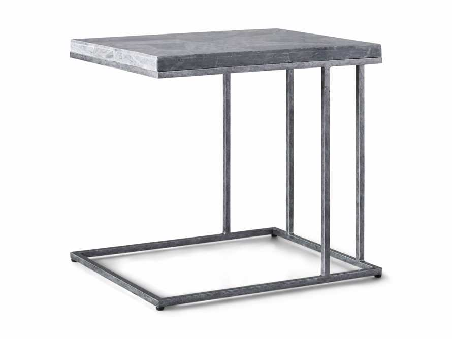"Boracay 24"" Century Marble C Table in Grey, slide 6 of 6"