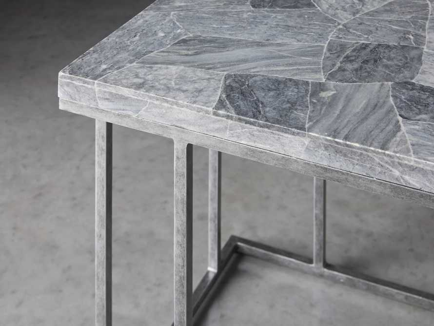 "Boracay 24"" Century Marble C Table in Grey, slide 3 of 6"