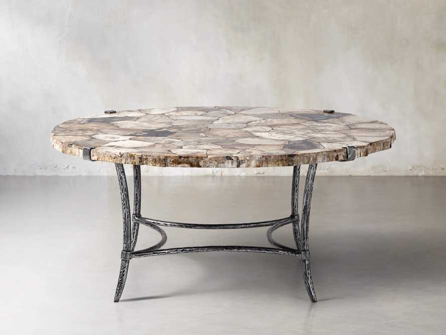 "Boracay 42"" Coffee Table in Petrified Wood, slide 1 of 6"