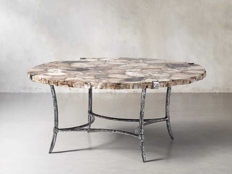 "Boracay 42"" Coffee Table in Petrified Wood, slide 2 of 6"