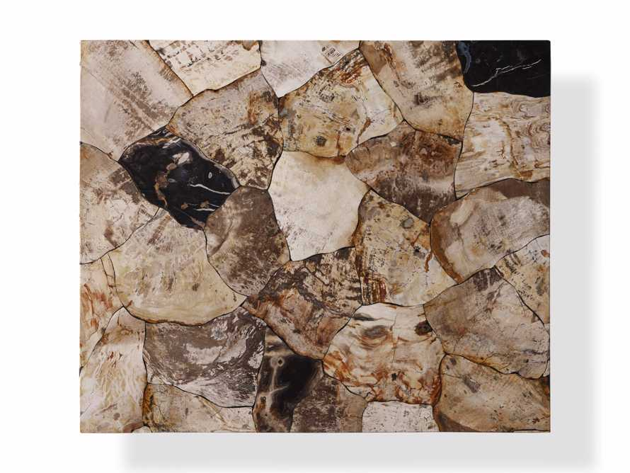 "Boracay 24"" Petrified Wood C Table, slide 5 of 6"