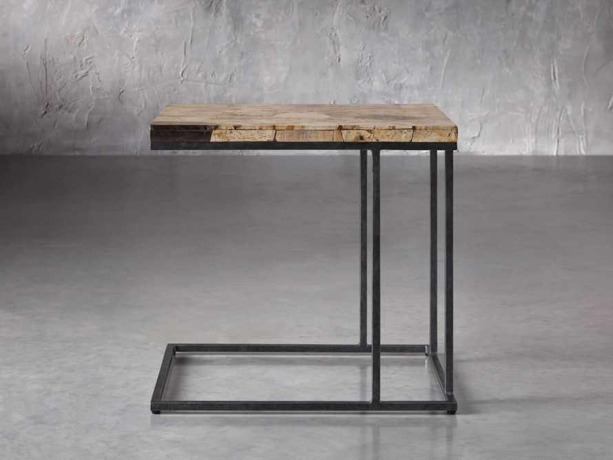 "Boracay 24"" Petrified Wood C Table, slide 2 of 6"
