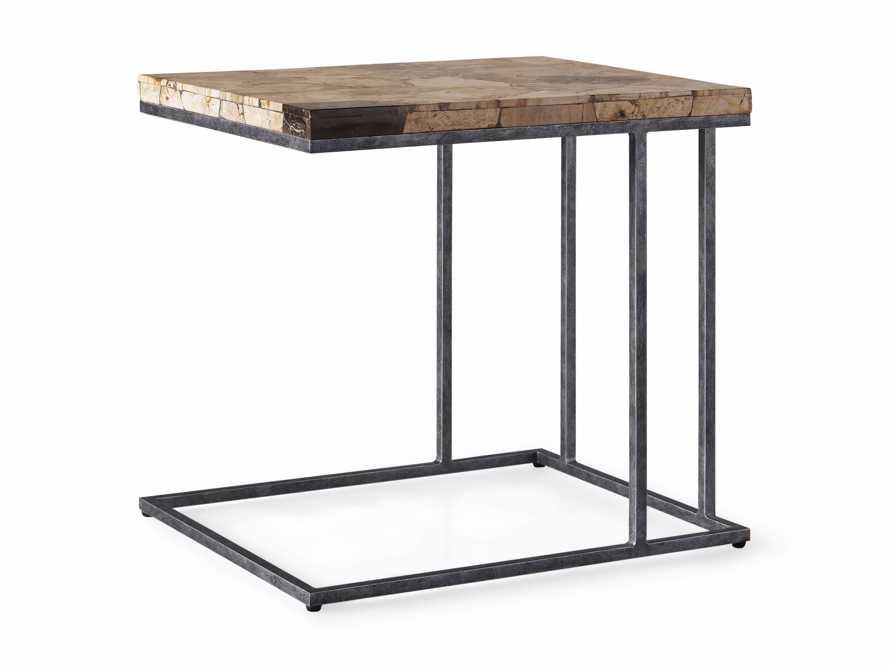 "Boracay 24"" Petrified Wood C Table, slide 6 of 6"