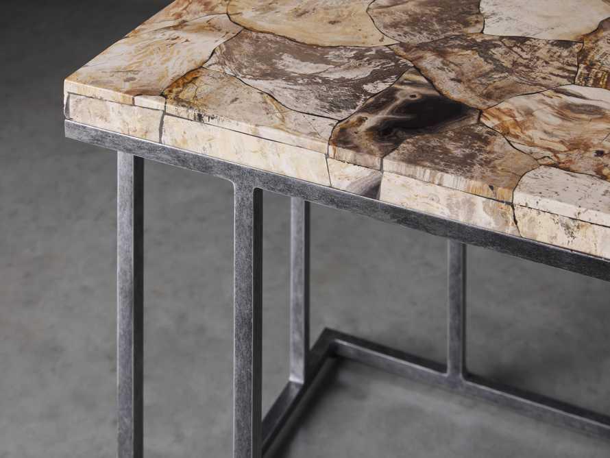 "Boracay 24"" Petrified Wood C Table, slide 3 of 6"
