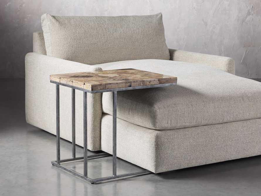 "Boracay 24"" Petrified Wood C Table, slide 4 of 6"