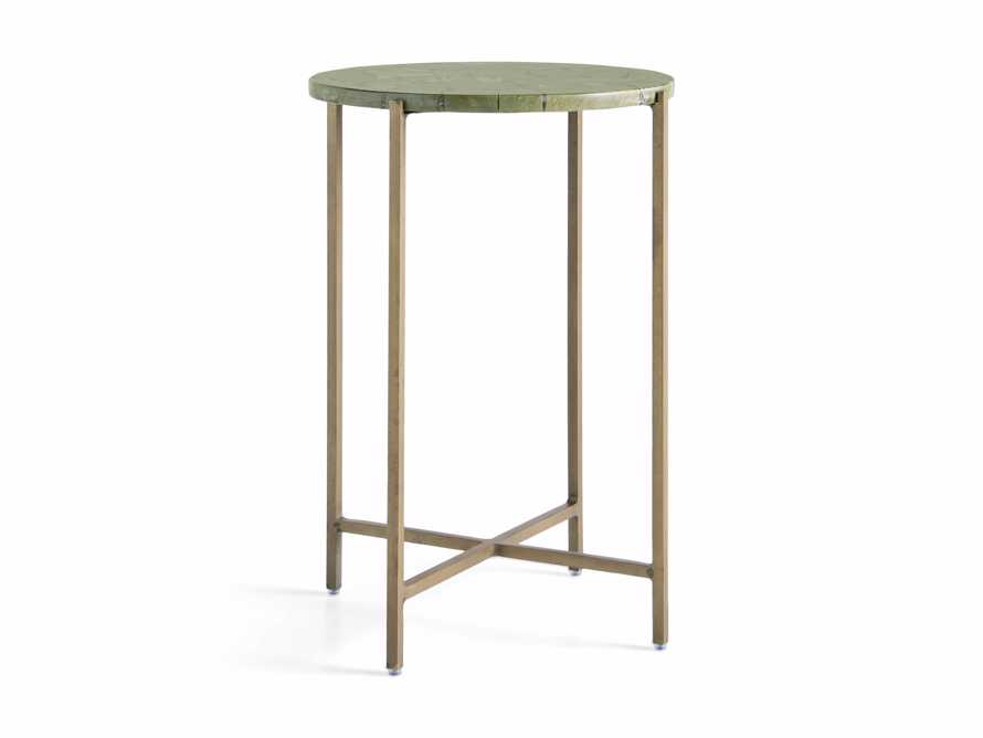 "Ludlow 14.5"" Butter Jade Martini Table, slide 3 of 4"