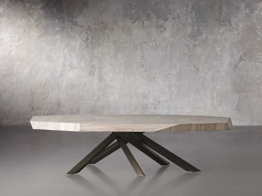 """Carrinna 72"""" Coffee Table in Bleached Aged, slide 1 of 5"""