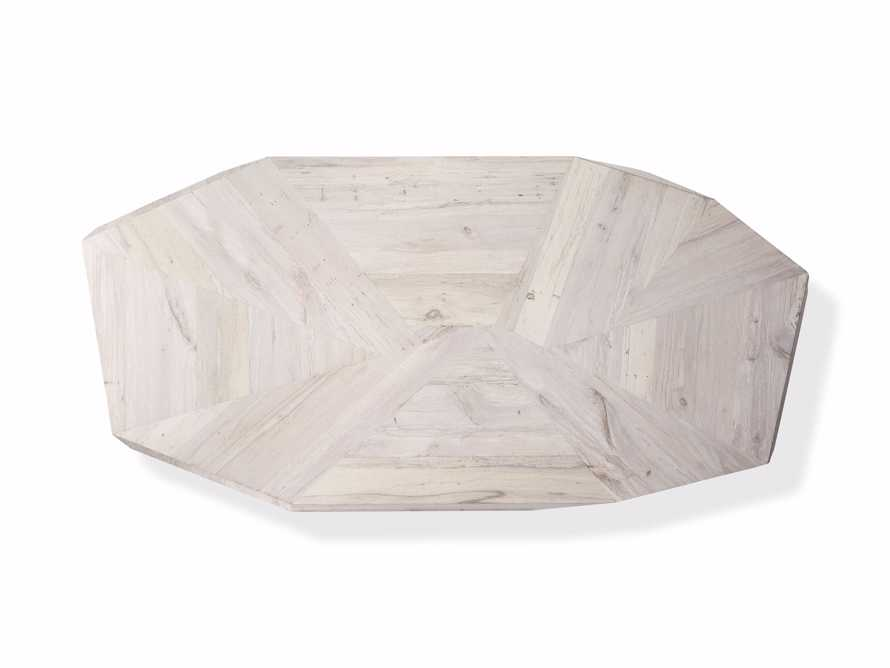 """Carrinna 72"""" Coffee Table in Bleached Aged, slide 5 of 5"""