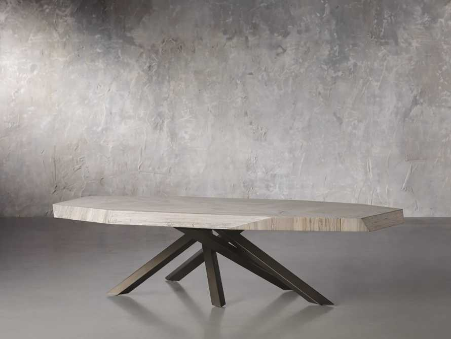 """Carrinna 72"""" Coffee Table in Bleached Aged, slide 2 of 5"""