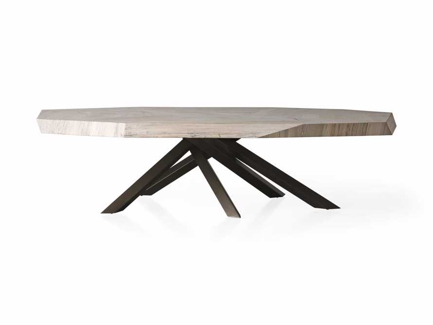 """Carrinna 72"""" Coffee Table in Bleached Aged, slide 4 of 5"""