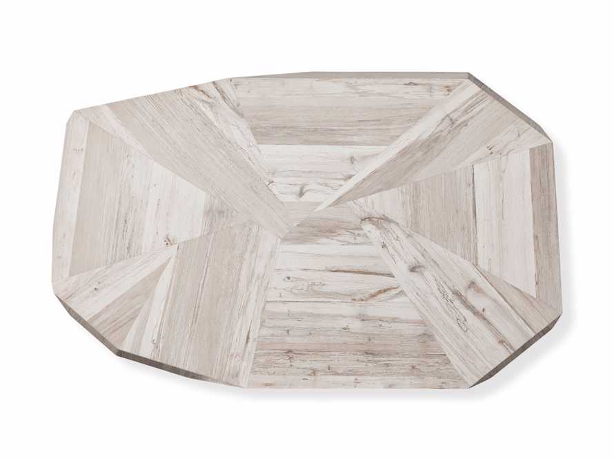 """Carrinna 56"""" Coffee Table in Bleached Aged, slide 7 of 7"""