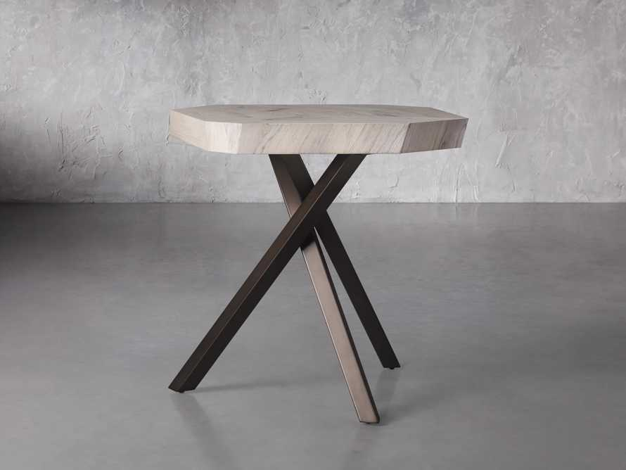 """Carrinna 24"""" End Table in Bleached Aged, slide 1 of 5"""