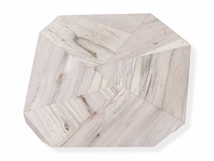 """Carrinna 24"""" End Table in Bleached Aged, slide 5 of 5"""