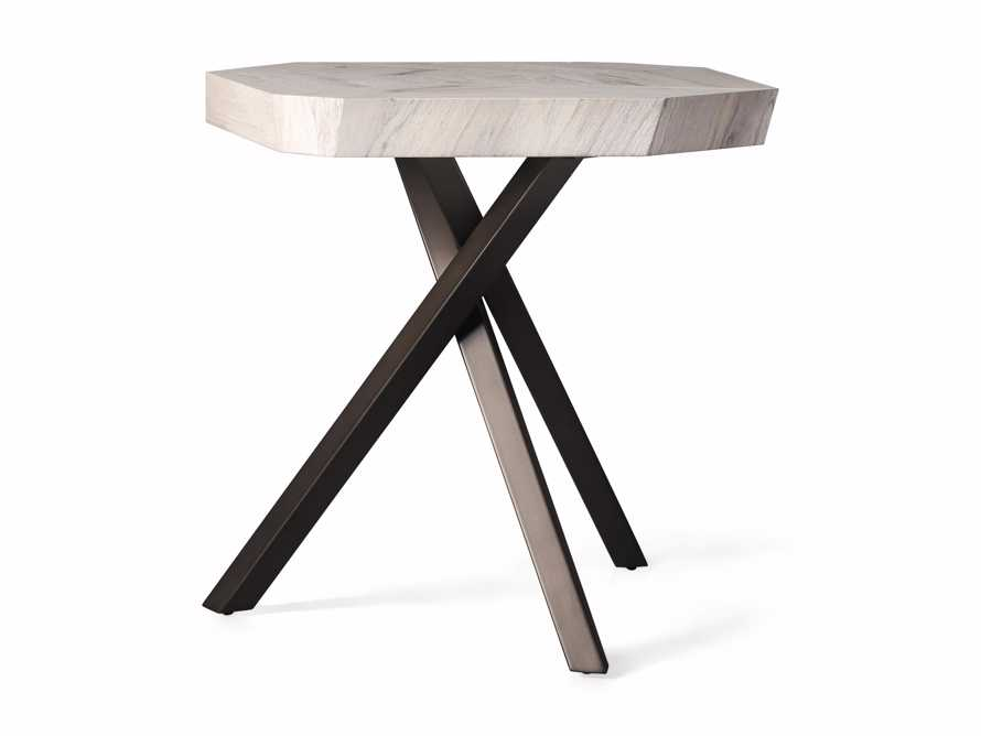 """Carrinna 24"""" End Table in Bleached Aged, slide 4 of 5"""