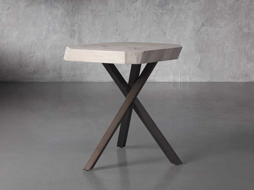 """Carrinna 24"""" End Table in Bleached Aged, slide 2 of 5"""