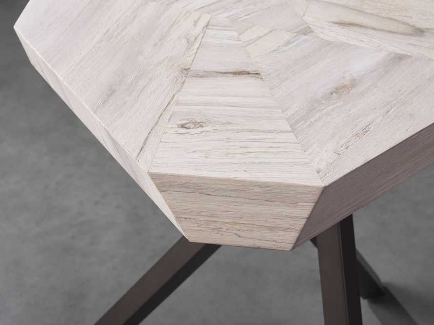 """Carrinna 24"""" End Table in Bleached Aged, slide 3 of 5"""