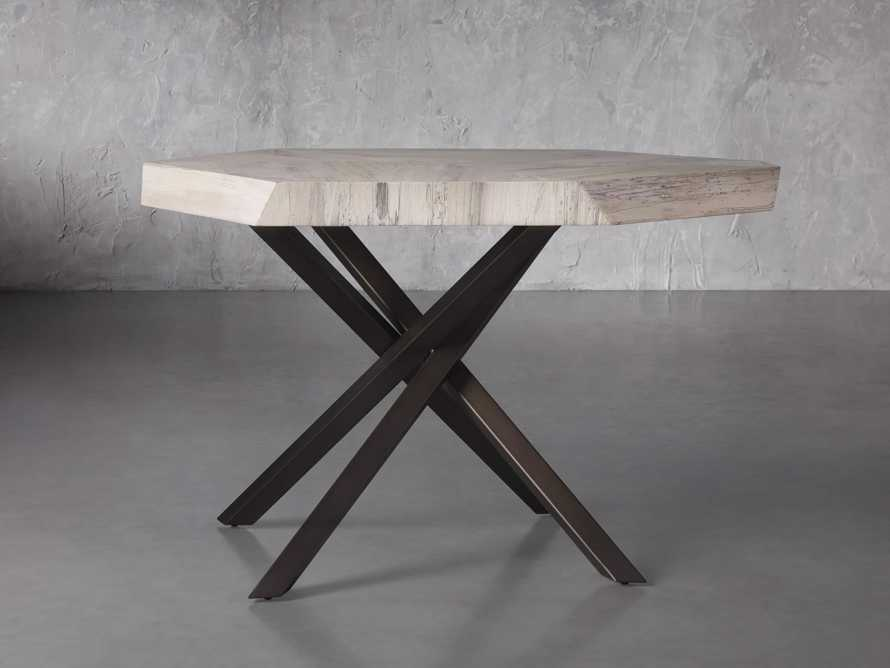 """Carrinna 38"""" End Table in Bleached Aged, slide 1 of 5"""