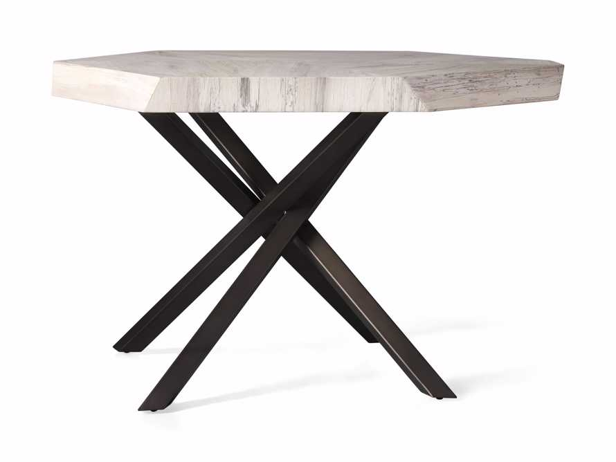 """Carrinna 38"""" End Table in Bleached Aged, slide 4 of 5"""