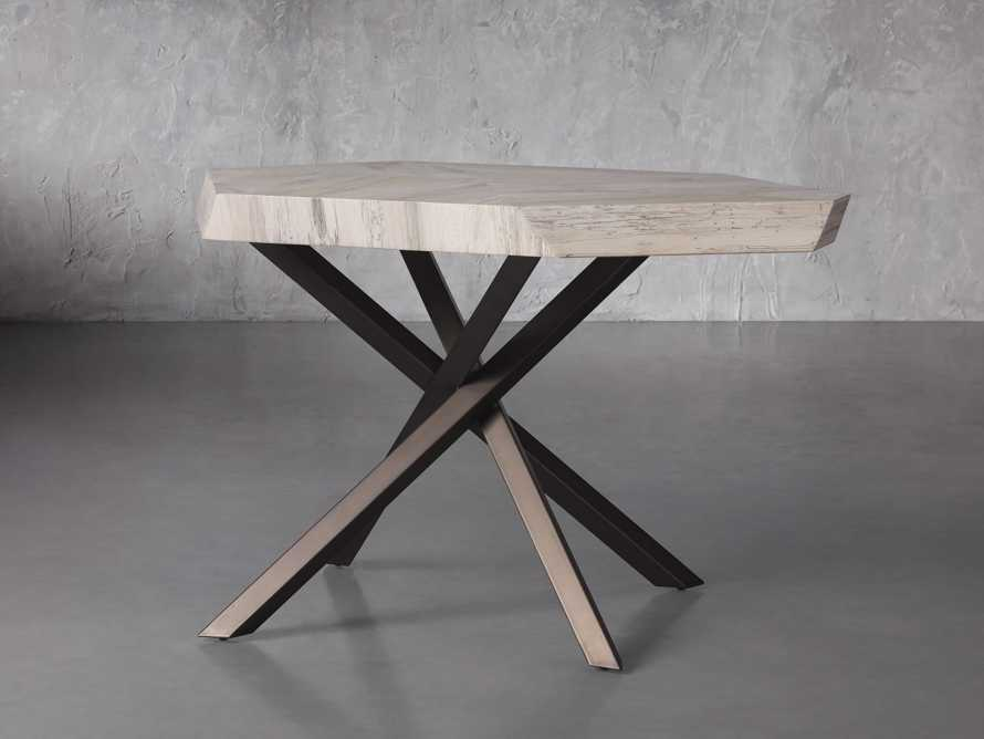 """Carrinna 38"""" End Table in Bleached Aged, slide 2 of 5"""