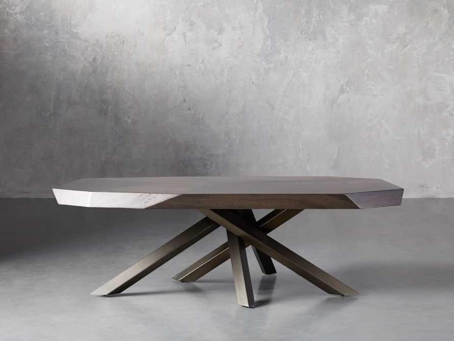 "Carrinna 56"" Coffee Table in Oscuro"