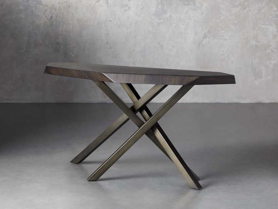 """Carrinna 62"""" Console Table in Oscuro"""