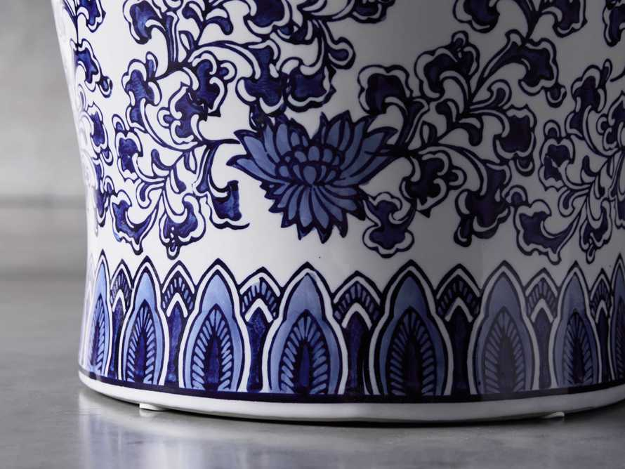 """Chinoiserie 11"""" Martini Table, slide 2 of 4"""