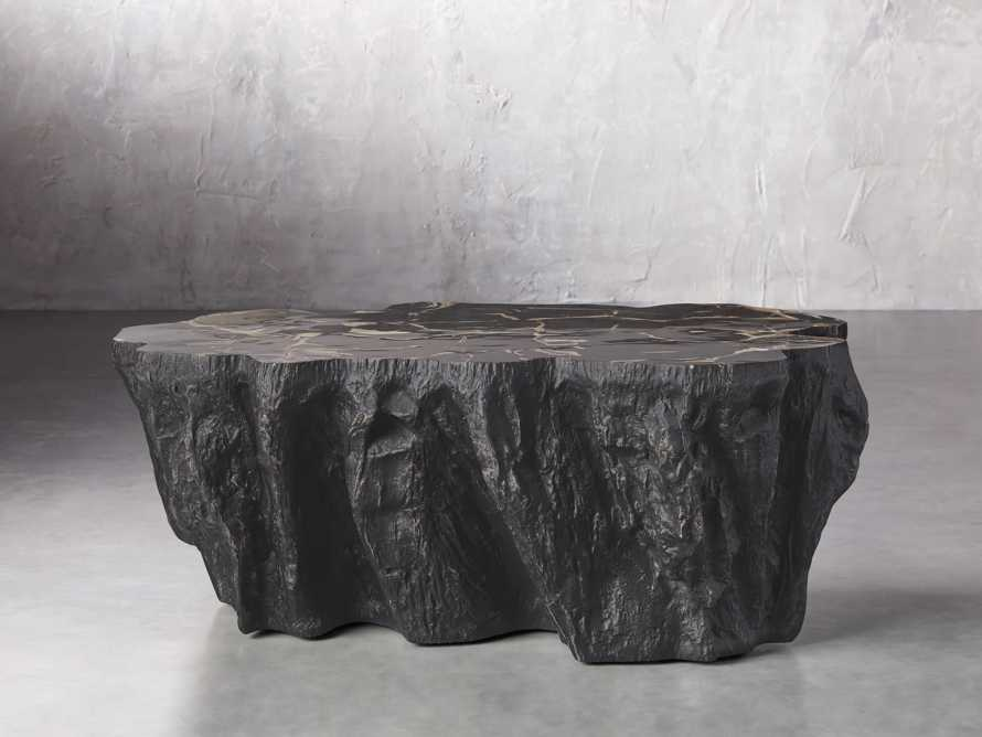 """Clayhill 44"""" Coffe Table in Black, slide 2 of 6"""