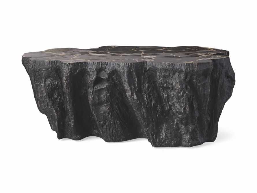 """Clayhill 44"""" Coffe Table in Black, slide 5 of 6"""