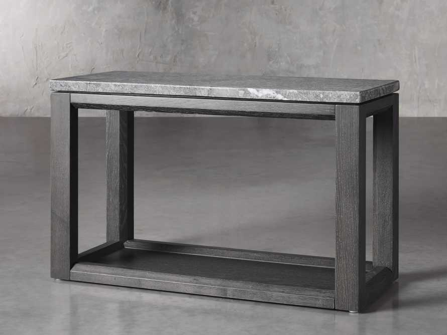 "Danyon 36.25"" End Table in Cinder, slide 2 of 5"