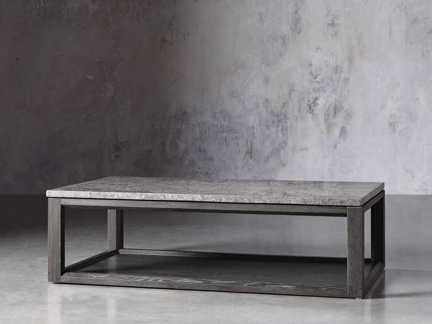 "Danyon 57"" Coffee Table in Cinder, slide 2 of 5"