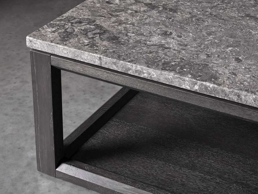 "Danyon 57"" Coffee Table in Cinder, slide 3 of 5"