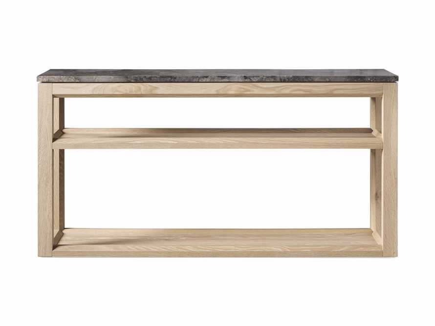 "Danyon 62.25"" Console Table in Natural, slide 6 of 6"