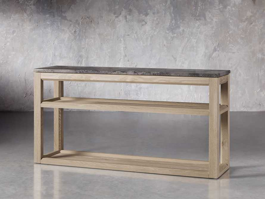 "Danyon 62.25"" Console Table in Natural, slide 2 of 6"