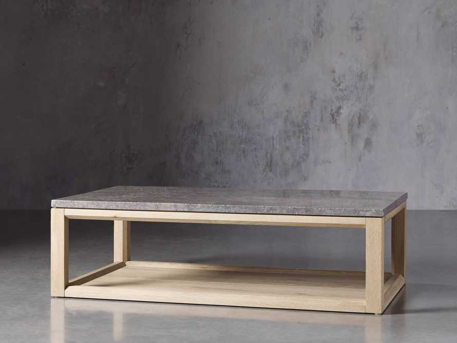 """Danyon 57"""" Coffee Table in Natural, slide 2 of 5"""