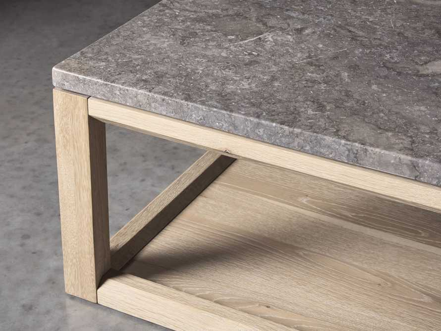 """Danyon 57"""" Coffee Table in Natural, slide 3 of 5"""