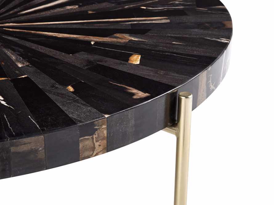 "Dominique 32"" Round Coffee Table"