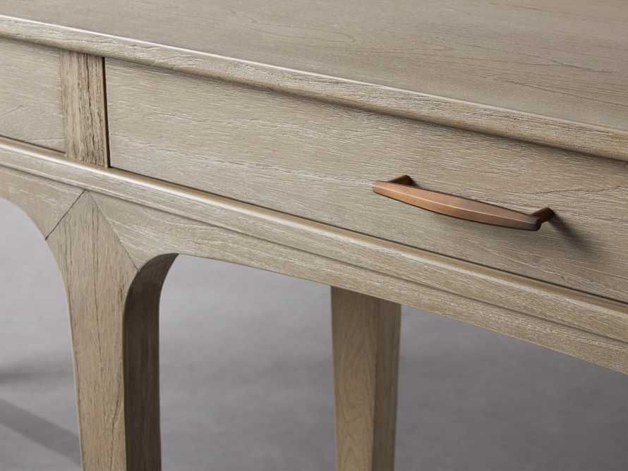 "Edlyn 75.5"" Console Table in Boulder Grey, slide 3 of 4"