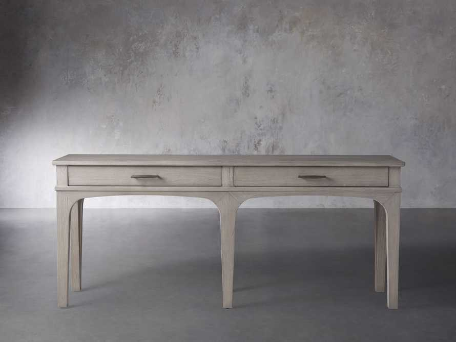 "Edlyn 75.5"" Console Table in Boulder Grey, slide 1 of 4"