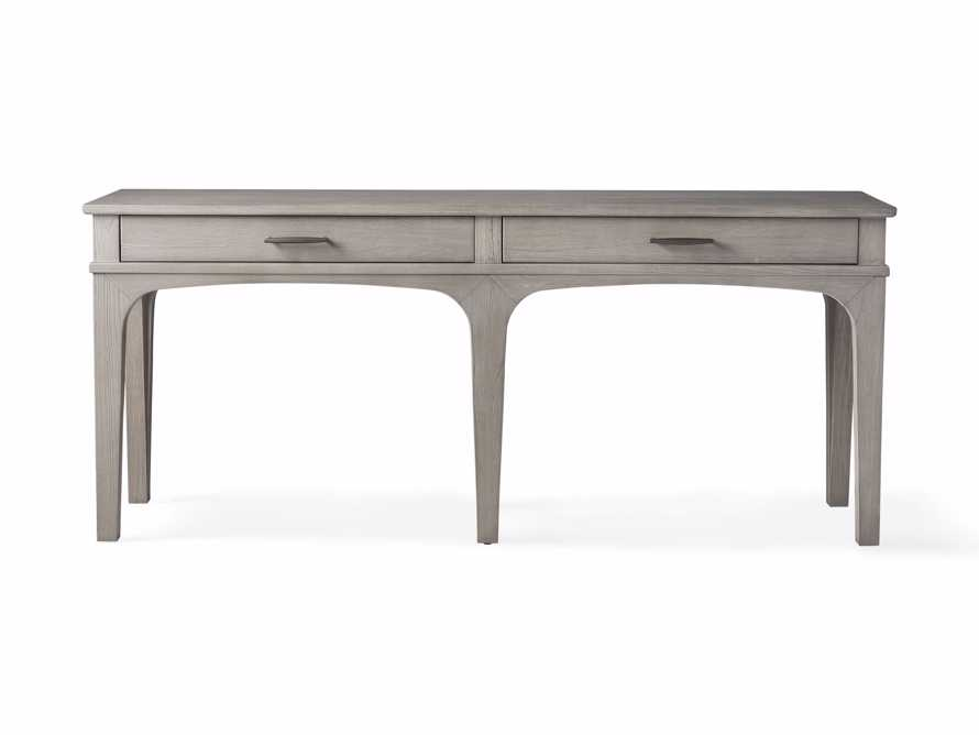"Edlyn 75.5"" Console Table in Boulder Grey, slide 4 of 4"