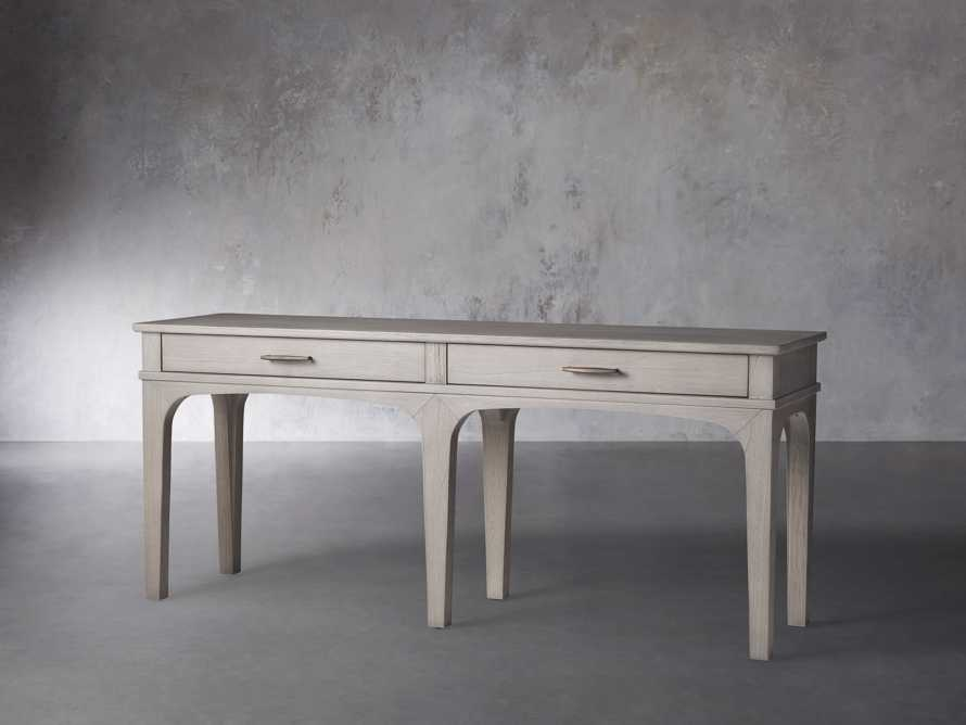 "Edlyn 75.5"" Console Table in Boulder Grey, slide 2 of 4"