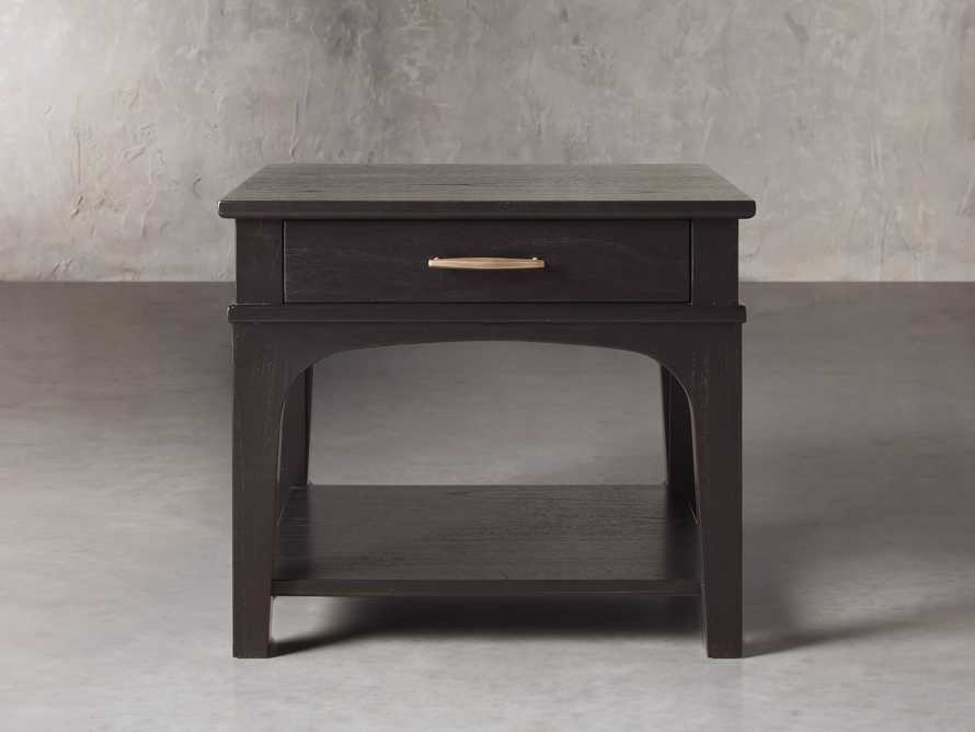 "Edlyn 28"" End Table in Ristretto, slide 1 of 4"